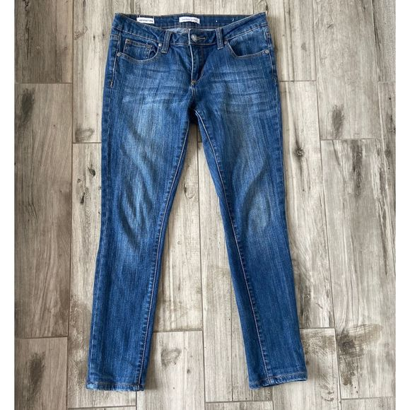 Vigoss Denim - Vigoss Studio Manhattan Skinny Dark Wash Jeans 27